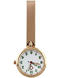 Nurse Clip on Watch Durable Fob Watch Hanging Watch Unisex Digital Pocket Watches for Nurse and Doctor