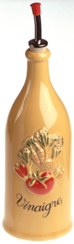 Revol Grands Classiques Collection, 9-Inch Provence Vinegar Bottle, London Yellow