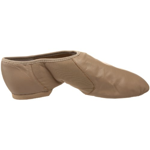 Bloch Damen Neo Flex Slip-On Jazz Schuh Taupe