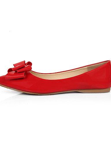 Zapatos ZQ Vestido Planos cn41 eu36 red 5 Bailarina Rojo Puntiagudos us5 cn41 eu40 us9 black uk7 Tac¨®n YYZ uk3 red Almendra us9 Plano de Punta mujer Semicuero Negro uk7 cn35 5 Cerrada eu40 5rw5qvP