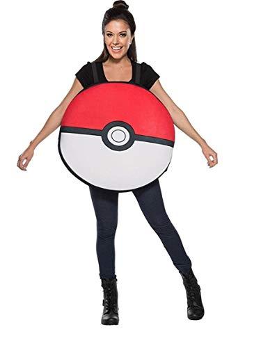 Rubie's Adult Pokemon Poke Ball Costume,