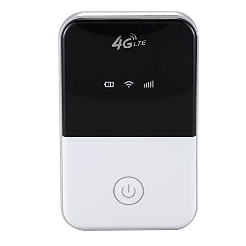 SODIAL 4G WiFi Router Mini Router 3G 4G LTE Wireless Portable Pocket Wi Fi Mobile Hotspot Car Wi-Fi Router with Sim Card Slot(Mf 901)