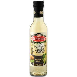 Bertolli Pinot Grigio White Wine Vinegar 8.5oz - Product of Italy - Single Bottle