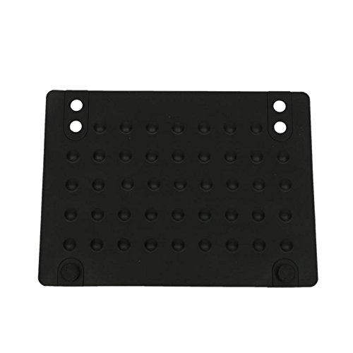 Ownsig Perfect Silicone Heat Resistant Proof Mat for Hair Straightener/Curling Iron Black