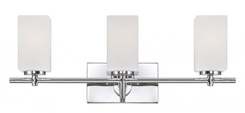 Designers Fountain 6733-CH Dakota 3 Light Bath Bar