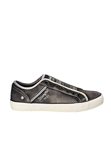 Hommes Gris à Starry Lacets WM181033 Chaussures Slip On 100 Wrangler X0Zfx0