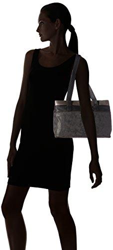 Tamaris Khema Shoulder Bag - bolsa de medio lado Mujer Negro - Schwarz (black comb 098)