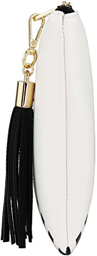 B-BRENTANO-Vegan-Clutch-Bag-Pouch-with-Tassel-Accent