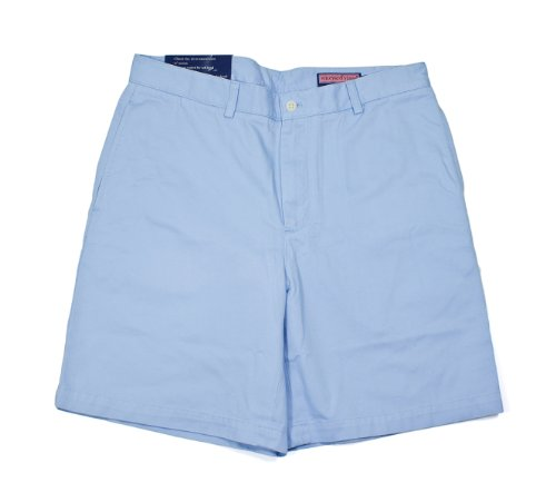 (Vineyard Vines Jake Blue Club Cotton Shorts 34)