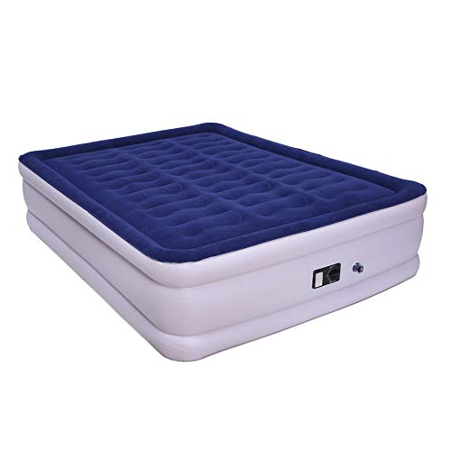 Ensteinberge 203x152x46CM Outdoor Air Mattress Double Person Internal Pump Comfortable Inflatable Cushion Folding Camping Pad Sleeping Pad by Ensteinberge (Image #6)