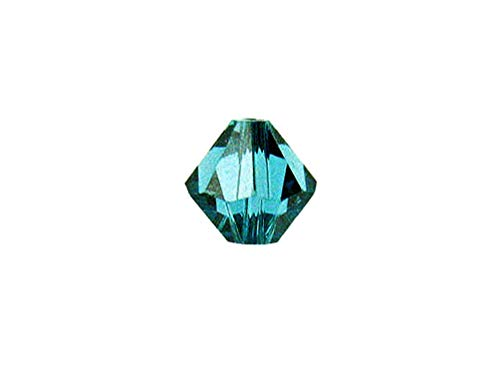 Swarovski Crystal, 5301 Bicone Beads 5mm, Indicolite, Wholesale Packs | Pack of 48