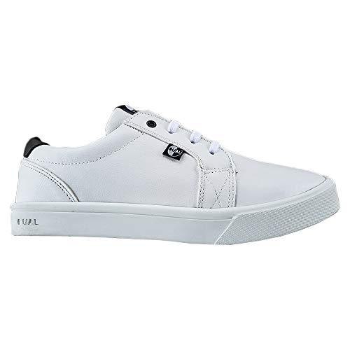 Tênis Dual Footwear Delta Adulto Unissex Branco 37