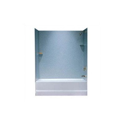 Swanstone SS00603.042 Solid Surface Glue-Up 3-Panel Bathtub Wall Kit, 30