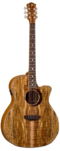Luna Guitar Woodland - Spalt Maple