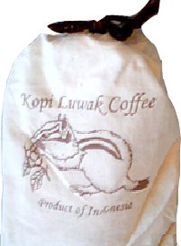 Kopi Luwak Coffee, Wild Gathered, 100% Pure, Whole Bean, 16 Ounces by Volcanica Gourmet Coffee