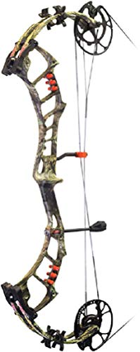 (PSE Archery Bow Madness Epix, Right Hand, Mossy Oak Country, 70#)