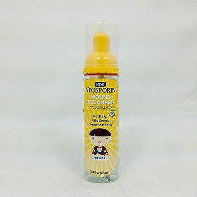 Neosporin Wound Cleanser Foam Bottle product image