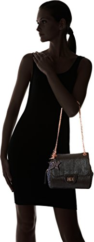 y Shoppers de Negro Mujer Lollipops bolsos Chain hombro Alix Black Side Glitter w0x0ZqXI4