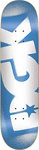 DGK OG Logo Skate Deck-8.0 BLU/WHT w/Mob Grip