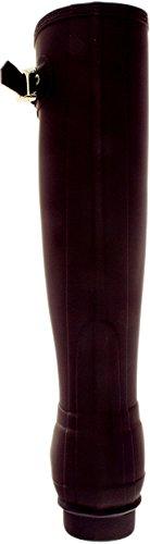Hunter Women's Original Tall Knee-High Rubber Rain Boot Purple Urchin