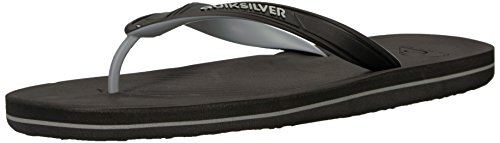 Quiksilver Men's Haleiwa II Sandal, Black/Grey/Black,, used for sale  Delivered anywhere in Canada