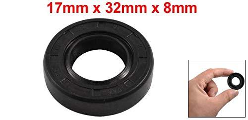 Sello de aceite de métricas doble labio 19mm X 32mm X 8mm