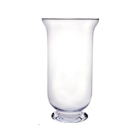 40cm Tall Glass Hurricane Vase Large Amazon Kitchen Home