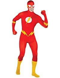 DC Comics Adult The Flash 2nd Skin Zentai Super Suit Costume