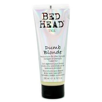 Tigi Bed Head Dumb Blonde Reconstructor For After Highlights (Damaged & Chemically Treated Hair) - 200ml/6.76oz