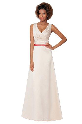de Perla vestido Encuadre Gorgeous noche de entero de cuerpo formal de honor SEXYHER damas EDJ1601 5H06AWzWn