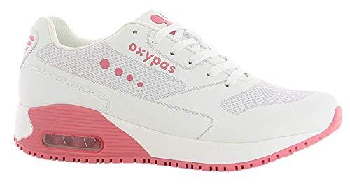 Mujer Oxypas Weiß Zapatillas Oxypas Mujer fuchsia Zapatillas qw8H7dq