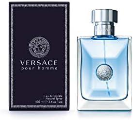 Amazon Com Versace Pour Homme Eau De Toilette Natural Spray 3 4 Fl Oz Versace Cologne Beauty