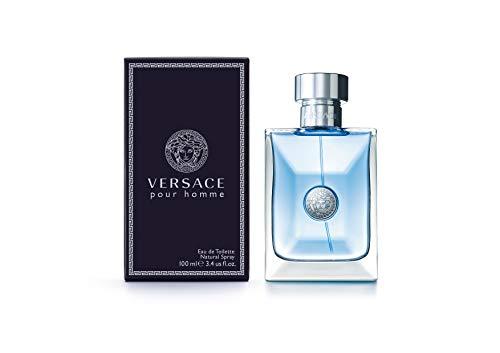 Versace Pour Homme Eau De Toilette Natural Spray, 3.4 Fl Oz