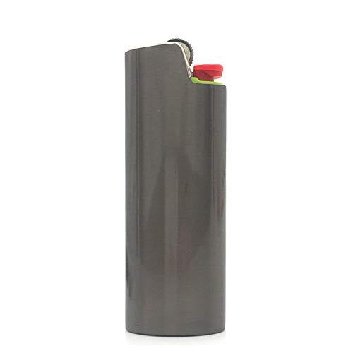 Lucklybestseller Metal Lighter Case Cover Holder Sleeve for BIC Full Size Lighter Type J6