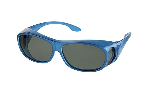 LensCovers Sunglasses Wear Over Prescription Glasses. Polarized Size - To Sunglasses Eclipse The See