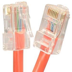 15Ft Cat.5E Non-Boot Patch Cable Orange