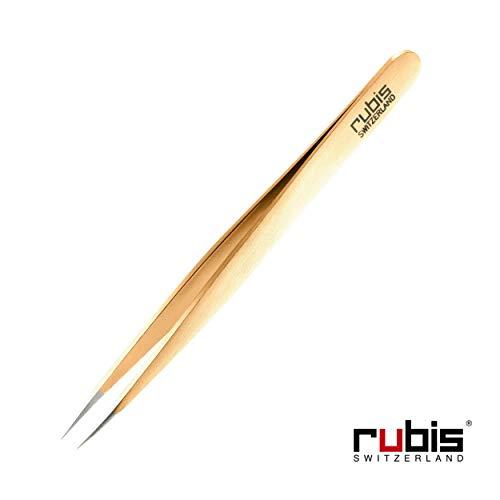Rubis Pointer Tweezer, Gold 1K003 ()