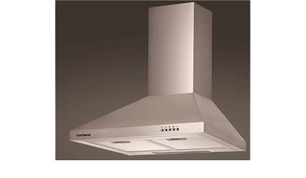 CAMPANA CORBERO 60 CCSD6550PD 550 m³/h IINOX: Amazon.es: Grandes electrodomésticos