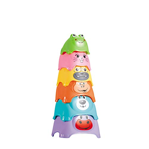 Animal Shaped Stacking Nesting Cups for Babies - Fun, Play & Learn (B081LZG4Y5) Amazon Price History, Amazon Price Tracker