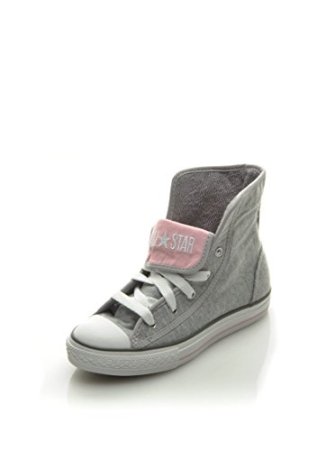 Converse - Fashion / Mode - Hi Fleece Grey Kid+ Jr - Gris