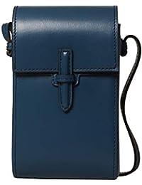 Womens Crossbody Pouch Box Calf Handbag