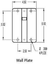 Black 60 lbs Allen Products MM-024-BT MultiMount Speaker Mount