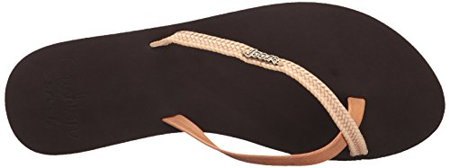 Reef Cushion Penny Brown, Chanclas para Mujer Marrón (Brown)