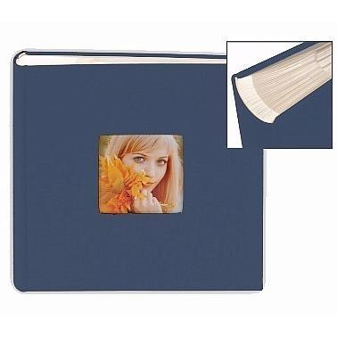 Bookcloth Blue 2 Up Flex Album For 4X6 5X7 Prints By Nielsen Bainbridge    4X6