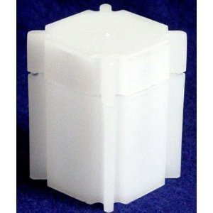 Square Large Dollar Coin Tube Holder (10 ()