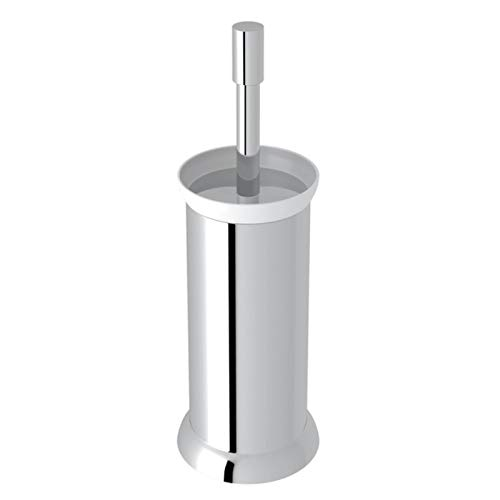 (Rohl U.6437APC Perrin & Rowe Transitional Floor Standing Toilet Brush Holder, Polished Chrome)