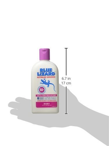 Blue Lizard Australian Sunscreen - Baby Sunscreen SPF 30+ Broad Spectrum UVA/UVB Protection - 8.75 oz Bottle