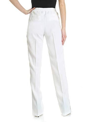 Mujer Poliéster Pantalón 1g13yj6352zi6 Pinko Blanco 0qdR60w
