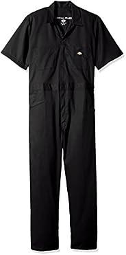 Dickies Mens Short Sleeve Flex Coverall Henley Shirt