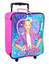 "JoJo Siwa Girl's 16"" Wheeled Pilot Case - Rolling Luggage"